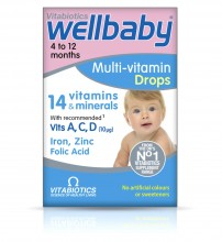 Vitabiotics Wellbaby 4 TO 12 Months Multi-Vitamin Drops 30ml