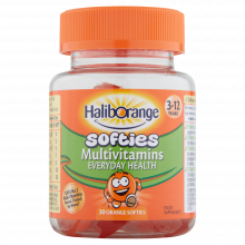 Haliborange Orange Multivitamin Softies 30'S