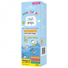 Natures Aid (3 Months-5 Years) Dha Mini Drops For Infants & Children 50ml